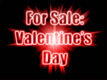 For Sale: Valentine's Day
