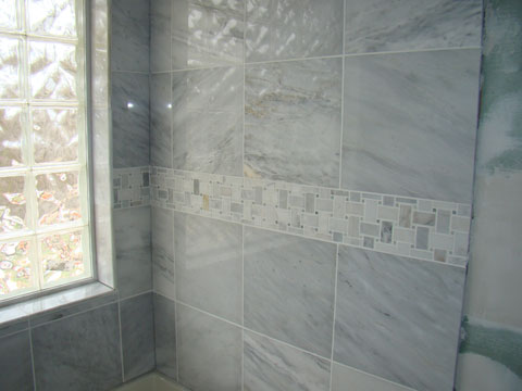 Marble Shower surround