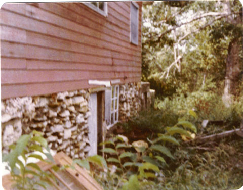 Back of house in 70s